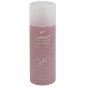 gel moussant exfoliant gel exfoliante