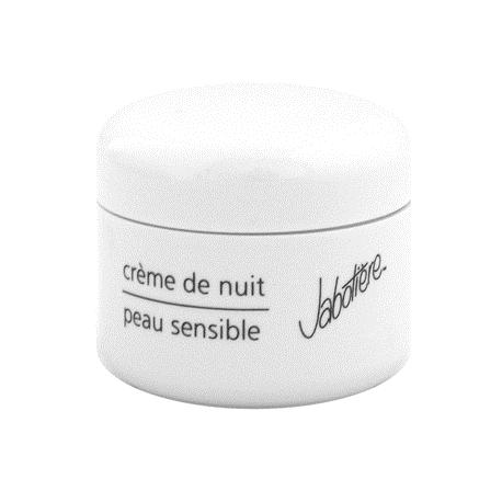 crème de nuit piel sensible