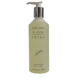 huile pour le corps relax aceite corporal relajante