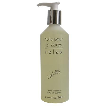 huile pour le corps relax aceite corporal relajante